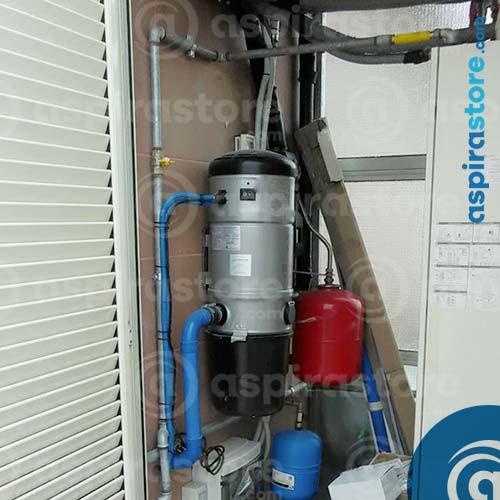 verifica perdite tubazioni impianto aspirazione centralizzata