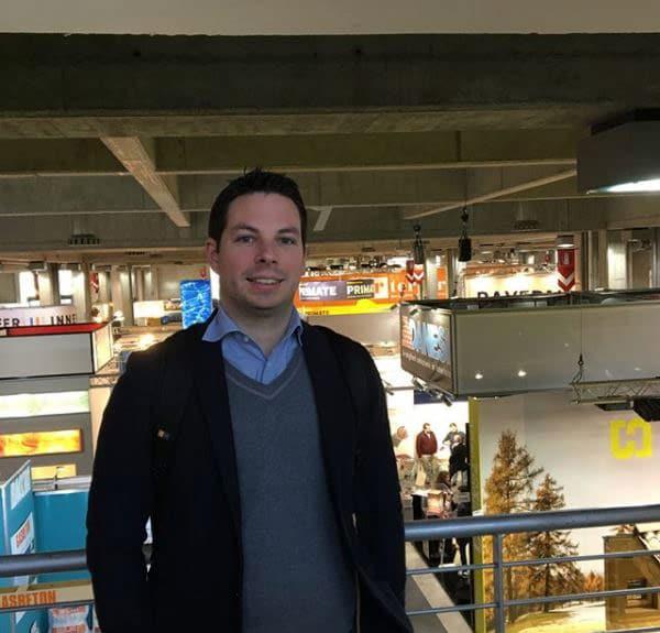 Igor Pizzinato in fiera Klimahouse a Bolzano 2018