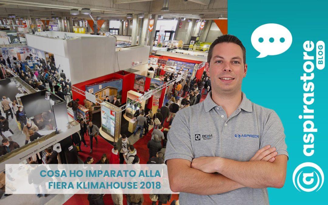 Cosa ho imparato alla Fiera Klimahouse Bolzano 2018