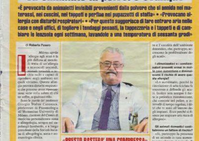 Allergie agli acari alla polvere come eliminarli intervista Prof. Canonica_Pagina_1