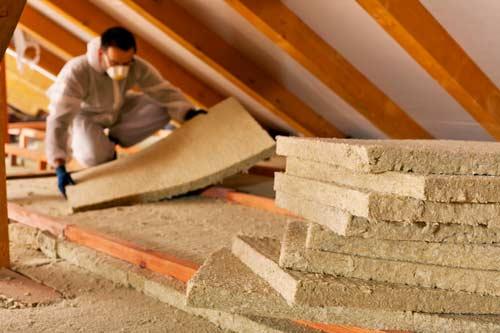 Isolamento tetto in una ristrutturazione
