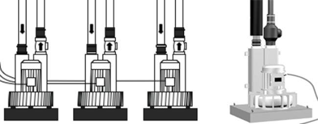 Pompe soffianti per impianto di aspirazione centralizzato