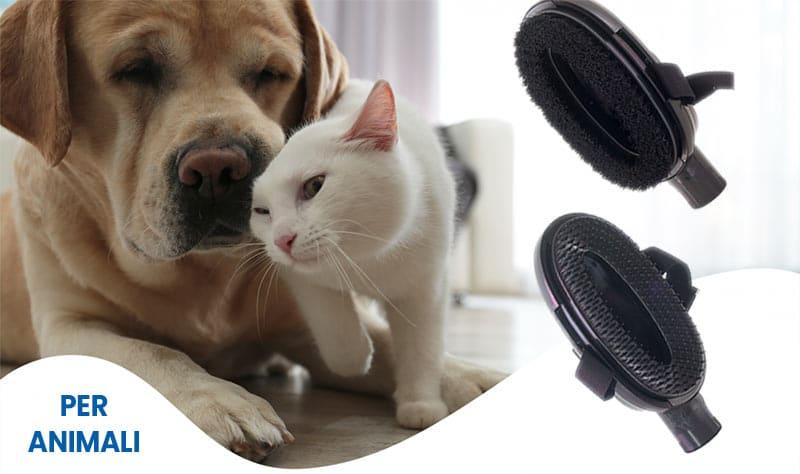 spazzole aspirapolvere centralizzato per animali