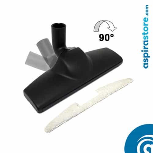 spazzola aspirapolvere centralizzato multifunzione e legno spa333