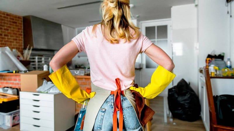 organizzare le pulizie di casa settimanali