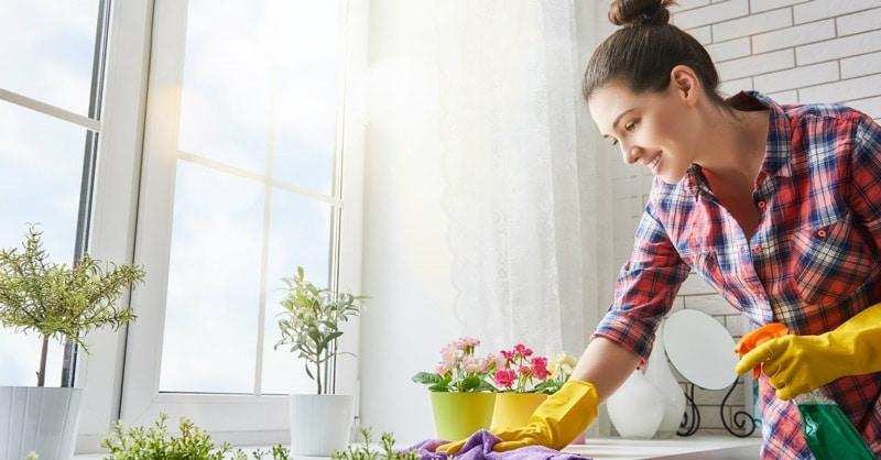 pulizie di casa ecologiche con detersivi naturali