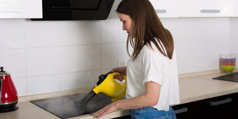pulizie ecologiche con il vapore