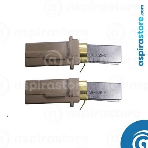 Coppia carboncini motore aspirante Lamb Ametek 117501-12 117502-12