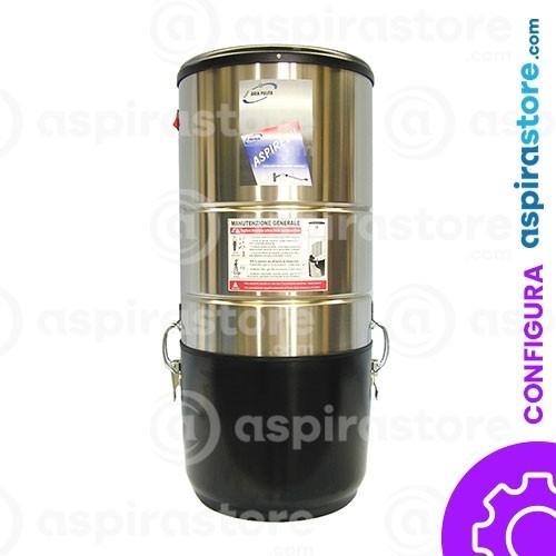 Centrale aspirante Aspiredil Globo GL70P in Inox - 1500 W