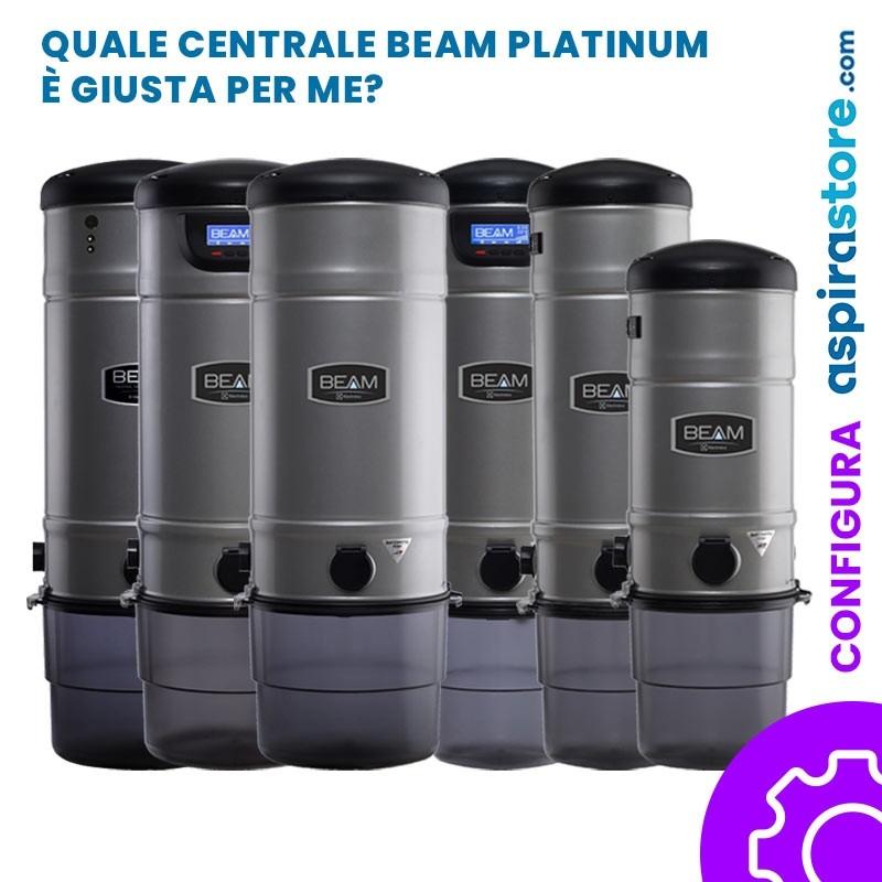 Centrale aspirante Beam Electrolux Platinum