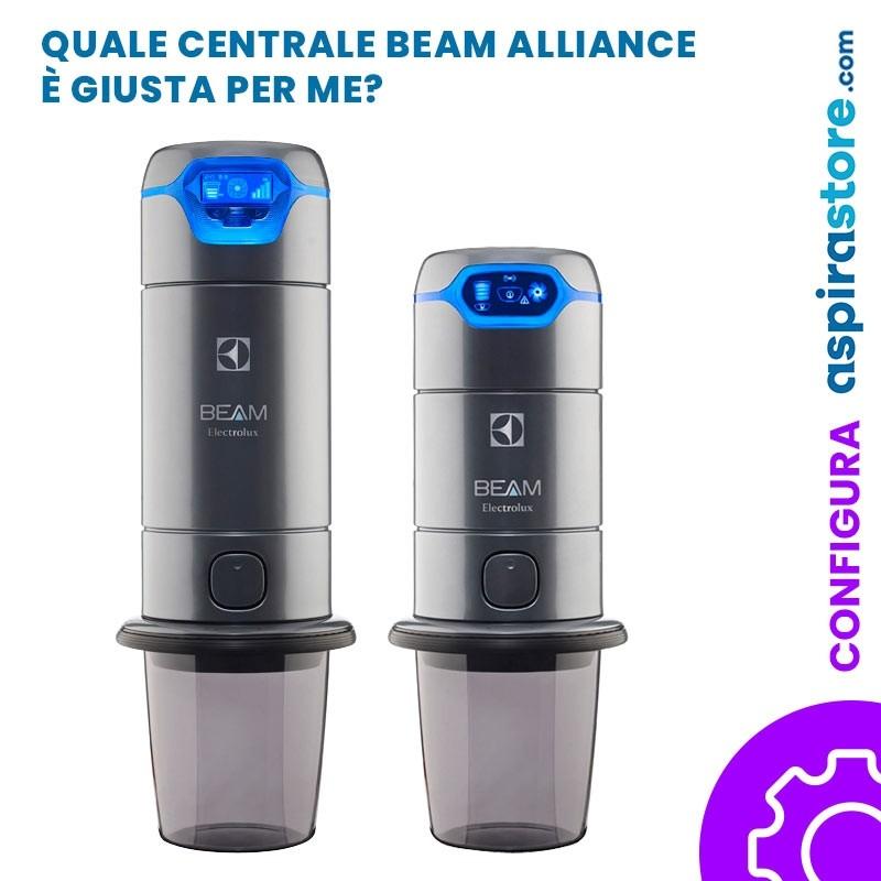 Centrale aspirante Beam Electrolux Alliance