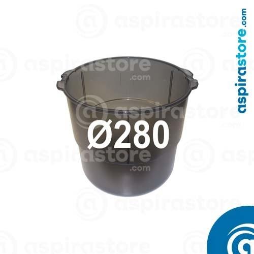 Contenitore polveri Ø280 centrali aspiranti Beam Electrolux SC335 SC385