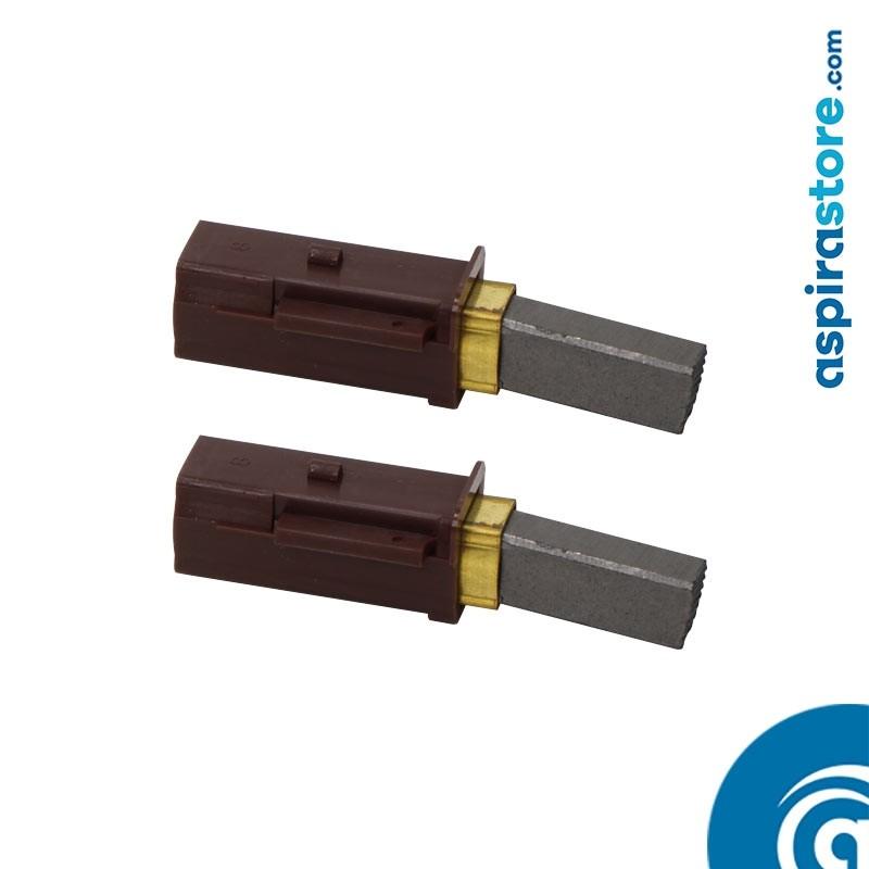 Coppia carboncini motore aspirante Lamb Ametek 117123-00 e altri codici 119711-00, 117123-00, 117123-13