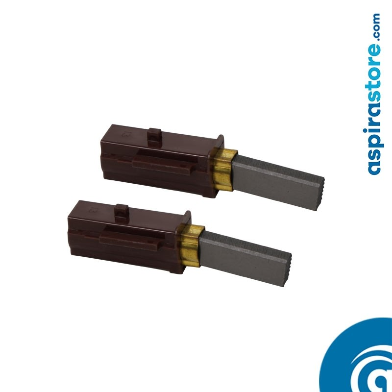 Coppia spazzole motore aspirante compatibili con 115949, 115955, 115961, 116036-13, 116037-13