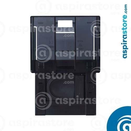 Presa aspirante per Ave Sistema 44 Touch nero con placca a scivolamento