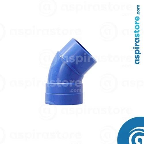 Curva PVC Ø100 45° MF