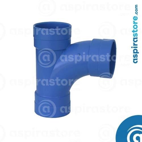 Derivazione PVC Ø100 FF 90° largo raggio