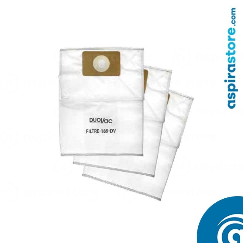 Filtro Duovac 189-DV sacchetto raccolta polveri 12 litri
