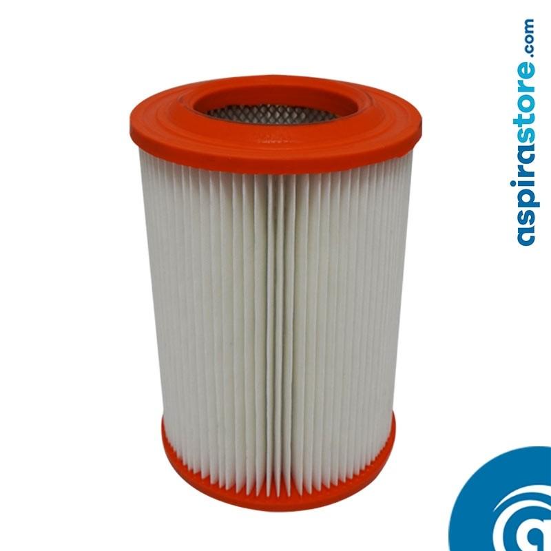 Filtro cartuccia in poliestere lavabile 20,5X14,5 Ø8 per centrale aspirante General D'Aspirazione