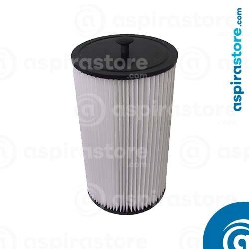 Filtro cartuccia poliestere 33,5X18,2 Ø12,1 Aspiredil Emmeti GMC
