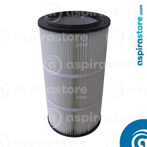 Filtro cartuccia poliestere 61,5X33 Ø21,7 separatore LT150 con autopulizia