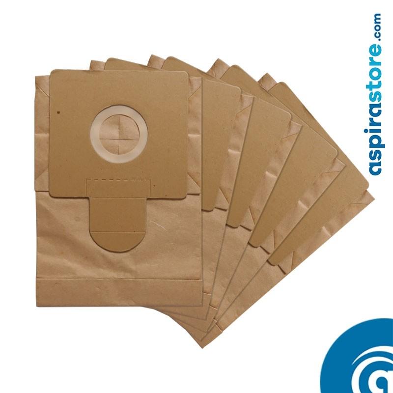 Confezione 5 filtri sacchetto per centrale aspirante da incasso BRAVO