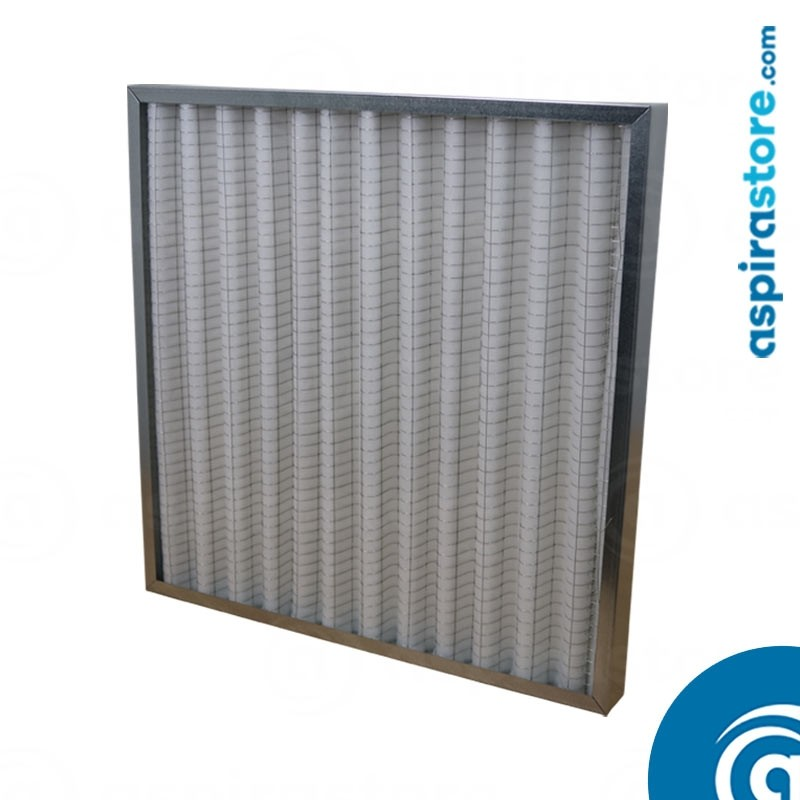 Filtro ondulato G4 per uta mm 592x592x48