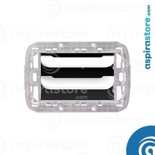 Griglia vmc Disappair 503 per Bticino Livinglight AIR bianco