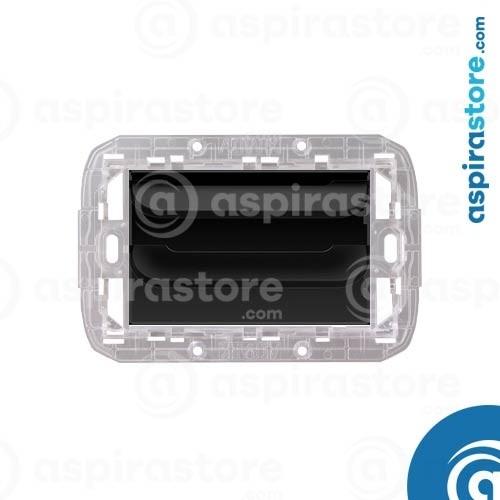Griglia vmc Disappair 503 per Bticino Livinglight AIR nero