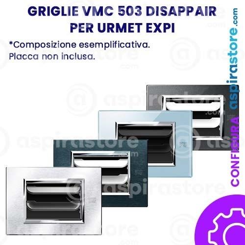 Griglia vmc Disappair 503 per Simon Urmet Nea Expi