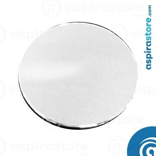Griglia tonda per bocchetta vmc vent colore cromo metallizzato