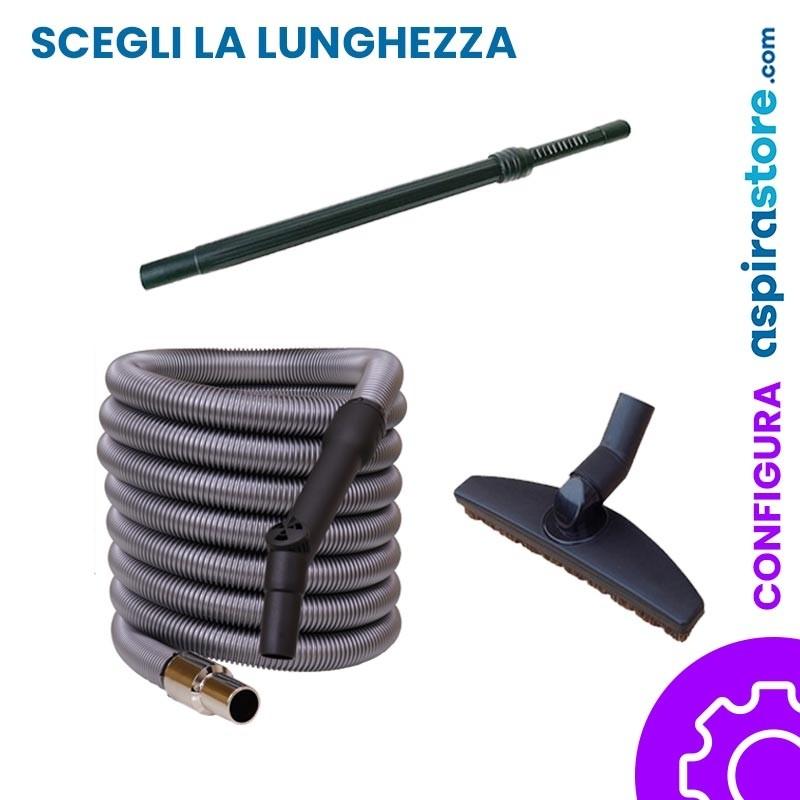 Kit accessori aspirapolvere centralizzato Ø32