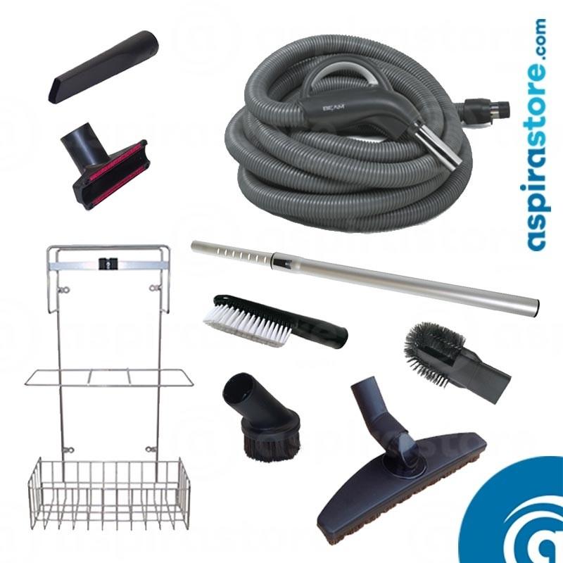Kit accessori pulizia Beam Electrolux Progression Ø32 tubo flessibile mt 9 ON-OFF