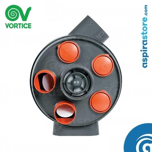 Macchina ventilazione meccanica controllata VORT PENTA HCS 12103