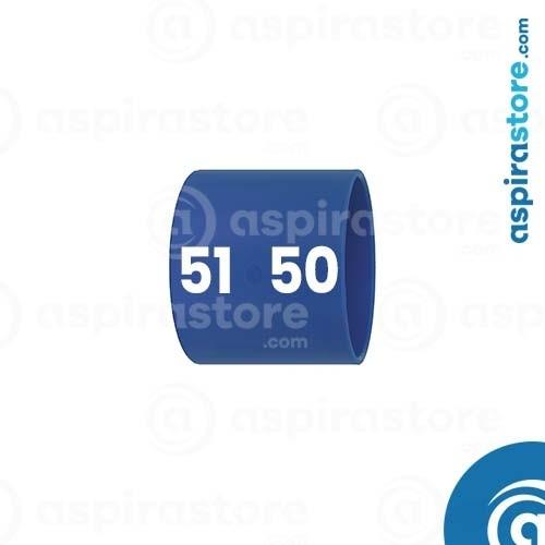 Manicotto ABS ridotto Ø51-Ø50 per aspirazione tubo a scomparsa