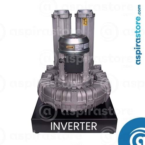 Modulo aspirante T20i 2,6 KW 380V per 2 operatori con inverter