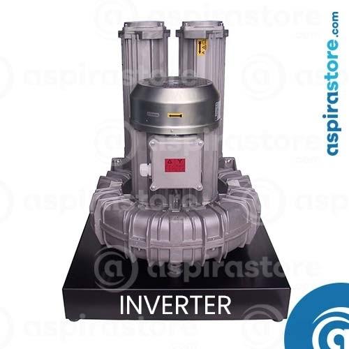 Modulo aspirante T40i - 6,3 KW 380V per 4 operatori con inverter