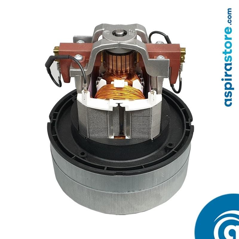 Motore per aspirapolvere centralizzato thru-flow bistadio