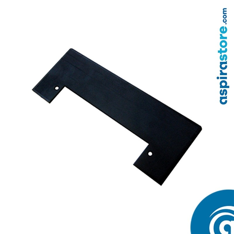 Placca cornice nero per perimetro bocchetta Vacpan su soluzioni a incasso