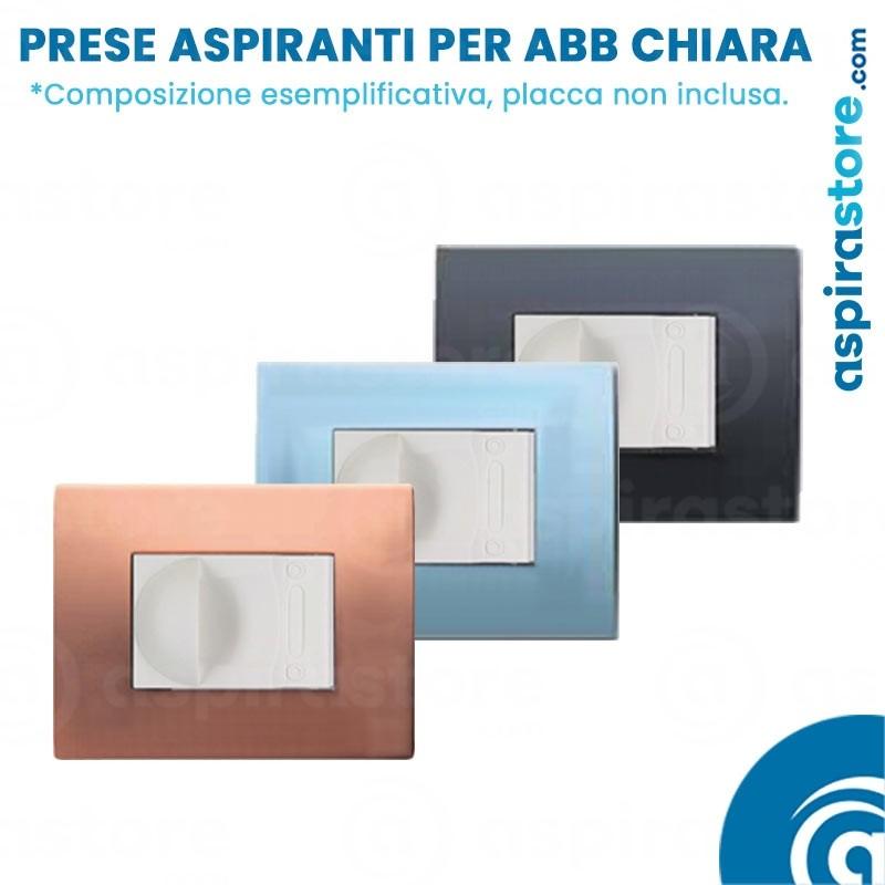 Composizione bocchette aspiranti per ABB Chiara