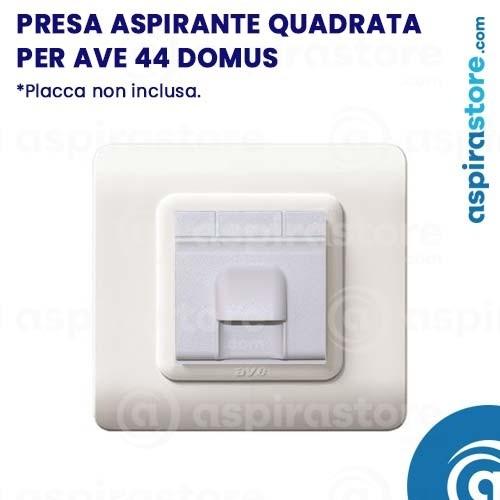 Presa aspirante quadrata per AVE 44 Domus Touch
