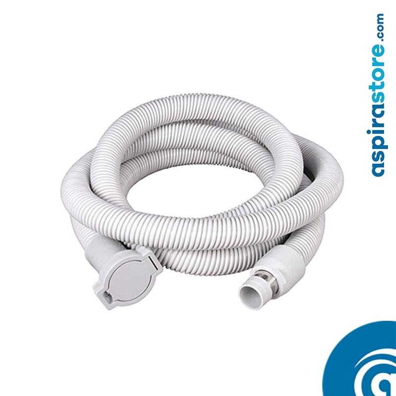 Prolunga tubo flessibile elettrificato ON-OFF mt 4,60 per aspirazione centralizzata