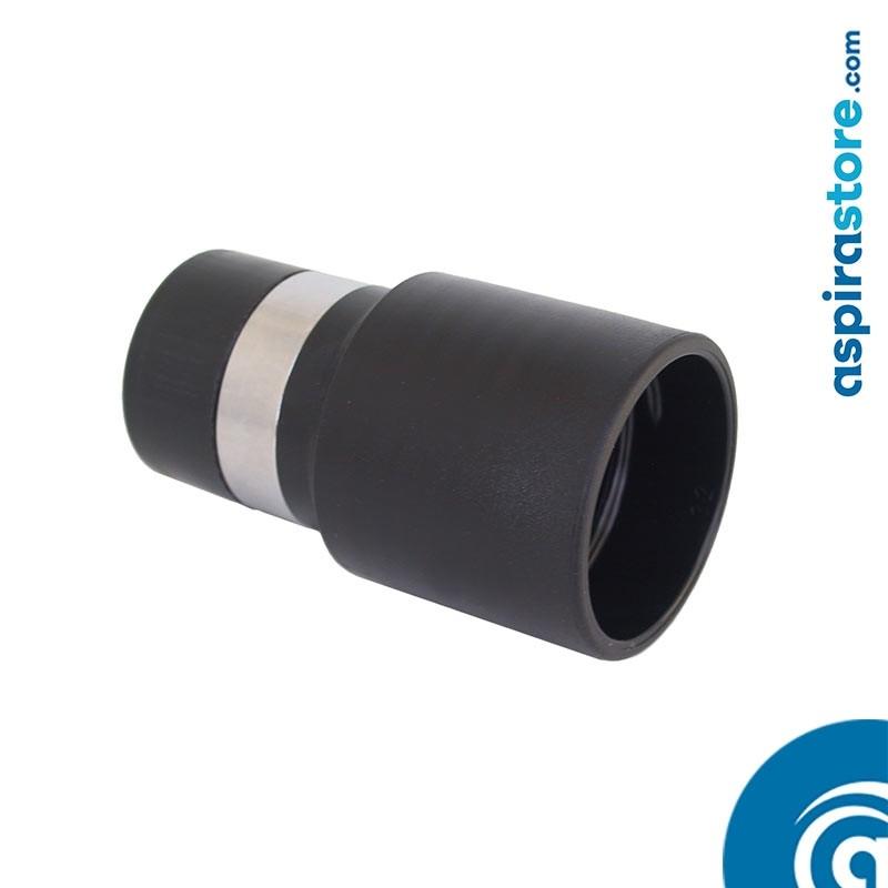 Raccordo tubo-presa fisso Ø32 con anello metallico conduttivo