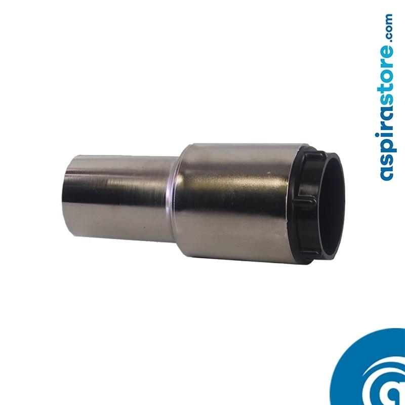 Raccordo tubo-presa girevole Ø32 nichel