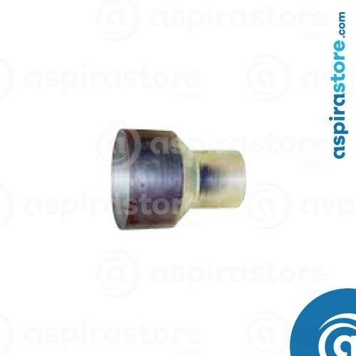 Riduzione-aumento in acciaio zincato diametro 80-100