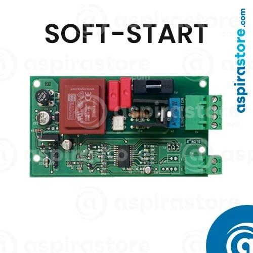 Scheda elettronica universale standard per aspirapolvere centralizzati con avvio soft-start