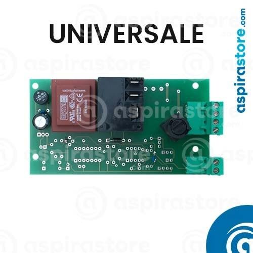 Scheda elettronica standard universale per aspirapolvere centralizzato