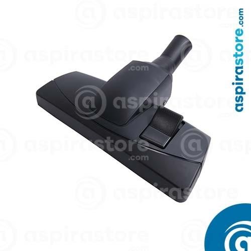 Spazzola doppio uso Silent cm 30 pavimenti e tappeti monoruota Ø32