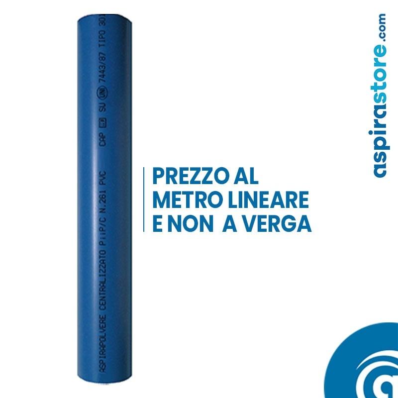Tubo PVC diametro 80 aspirazione centralizzata terziario prezzo