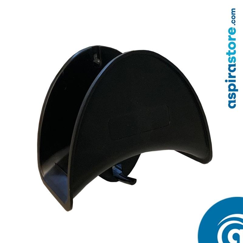 Supporto in plastica porta tubo flessibile